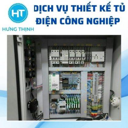 Dịch vụ thiết kế tủ điện công nghiệp tự động hóa